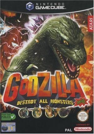 Echanger le jeu Godzilla : Destroy All Monsters Melee sur GAMECUBE