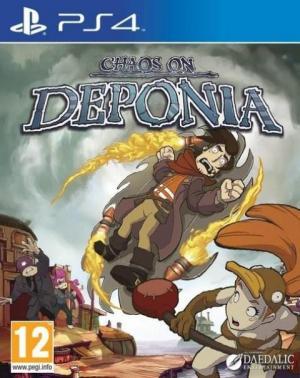 Echanger le jeu Chaos on Deponia sur PS4