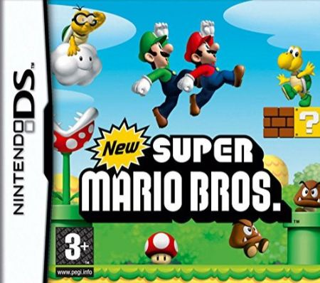 Echanger le jeu New Super Mario Bros. sur Ds