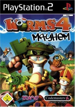 Echanger le jeu Worms 4 Mayhem sur PS2