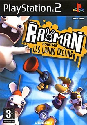 Echanger le jeu Rayman contre les Lapins Crétins sur PS2