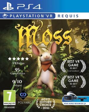 Echanger le jeu Moss (PS-VR requis) sur PS4