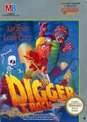 Echanger le jeu Digger T Rock sur NES