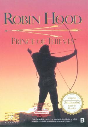 Echanger le jeu Robin Hood: Prince of Thieves  - Robin de Bois - sur NES