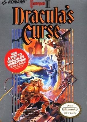 Echanger le jeu Castlevania 3 sur NES