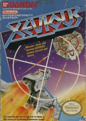 Echanger le jeu Xevious  sur NES