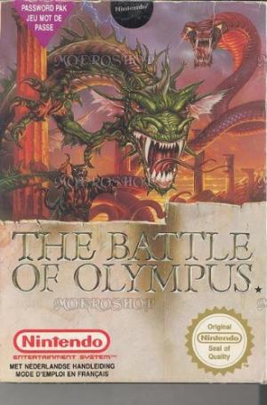 Echanger le jeu Battle Of Olympus sur NES