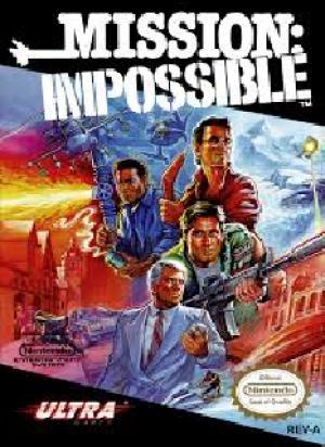 Echanger le jeu Mission Impossible sur NES