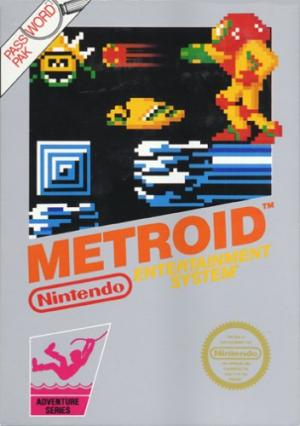 Echanger le jeu Metroid sur NES