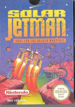 Echanger le jeu Solar Jetman sur NES