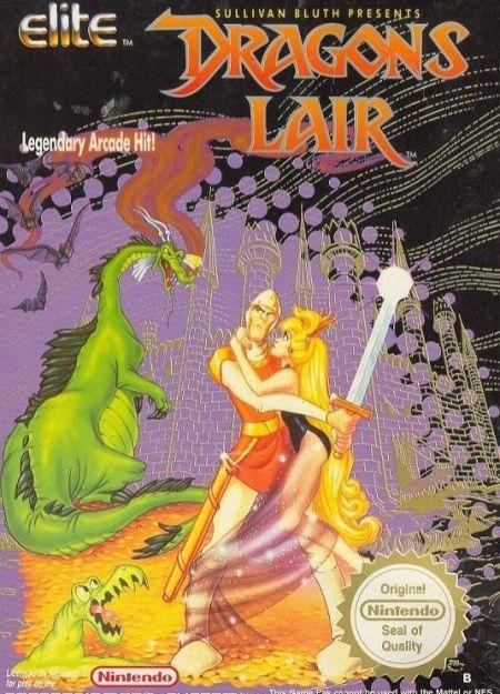 Echanger le jeu Dragon's Lair  sur NES