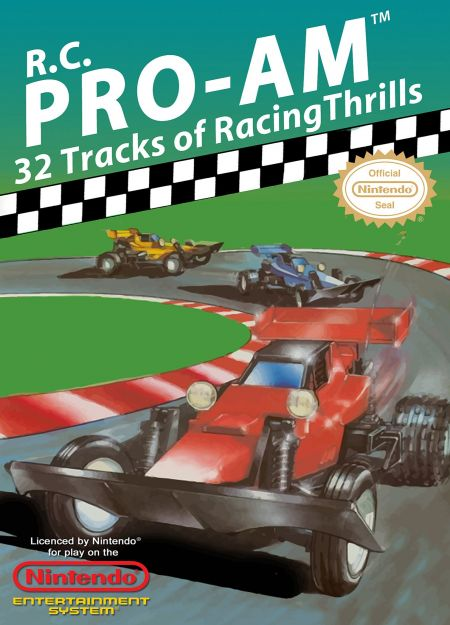 Echanger le jeu Rc Pro Am sur NES