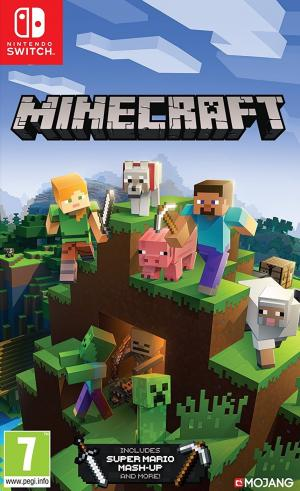 Echanger le jeu Minecraft sur Switch