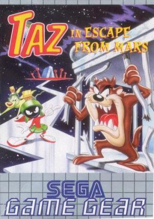 Echanger le jeu Taz In Escape From Mars sur GAMEGEAR