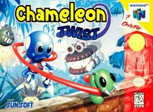Echanger le jeu Chameleon Twist sur N64