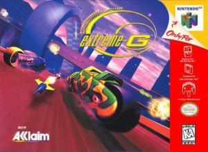 Echanger le jeu Extreme G  sur N64