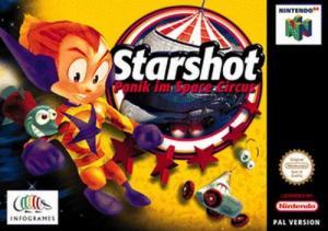 Echanger le jeu Starshot Space Circus Fever sur N64