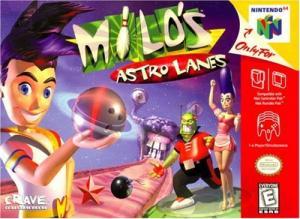 Echanger le jeu Milo's Astro Lanes sur N64