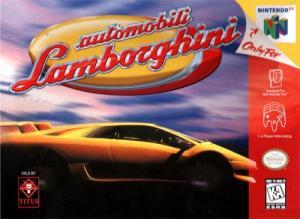 Echanger le jeu Automobili Lamborghini sur N64