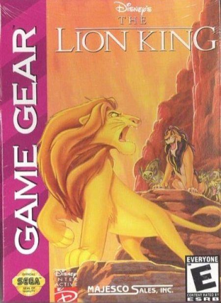 Echanger le jeu The Lion King  sur GAMEGEAR