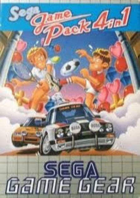 Echanger le jeu Sega Game Pack 4 en 1  sur GAMEGEAR