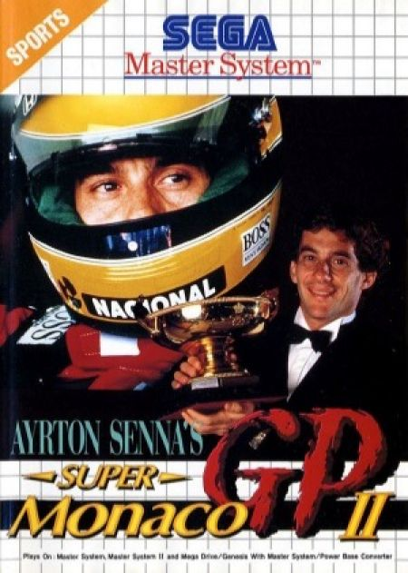 Echanger le jeu Ayrton Senna's Super Monaco GP 2 sur MASTER SYSTEM