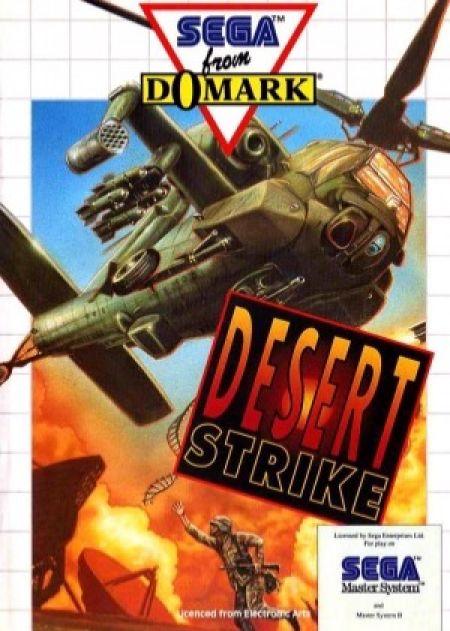Echanger le jeu Desert Strike sur MASTER SYSTEM