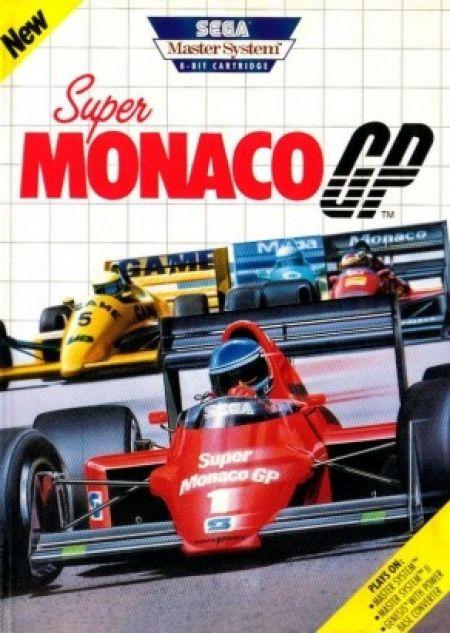 Echanger le jeu Super Monaco GP sur MASTER SYSTEM