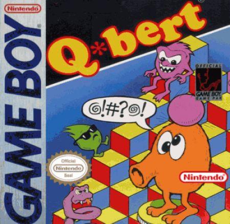 Echanger le jeu Q?bert sur GAMEBOY