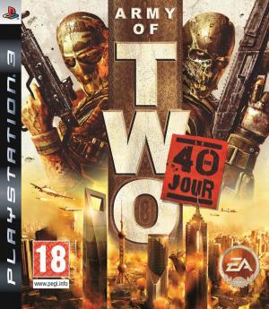 Echanger le jeu Army of two, le 40ème jour sur PS3