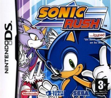 Echanger le jeu Sonic Rush sur Ds