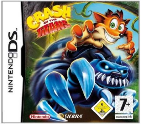 Echanger le jeu Crash of the Titans sur Ds