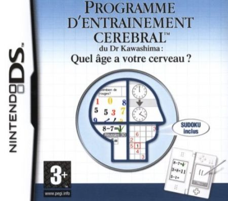 Echanger le jeu Brain Training sur Ds