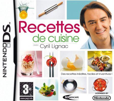 Echanger le jeu Recettes de cuisine avec Cyril Lignac sur Ds