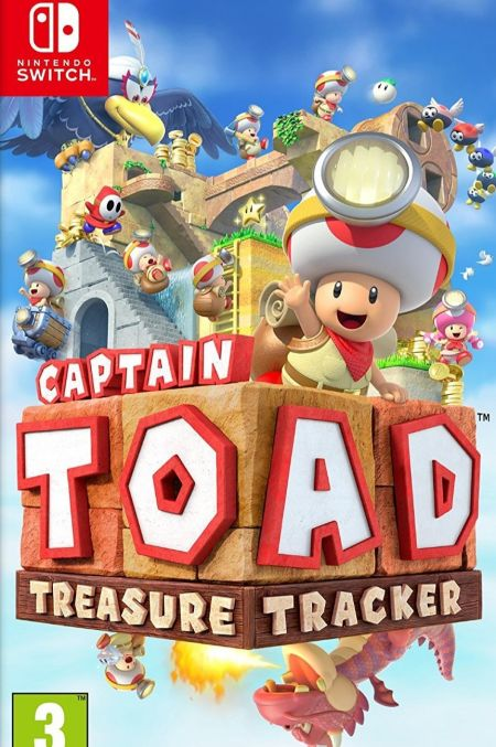Echanger le jeu Captain Toad Treasure Tracker  sur Switch