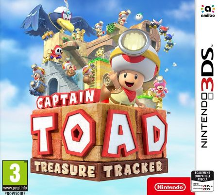 Echanger le jeu Captain Toad Treasure Tracker  sur 3DS