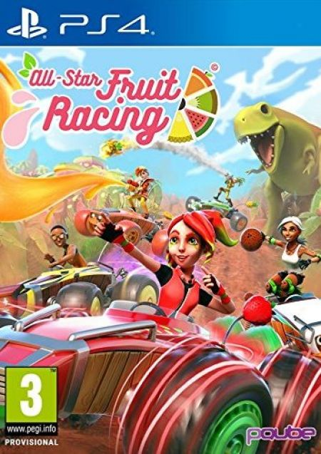 Echanger le jeu All-Star Fruit Racing sur PS4