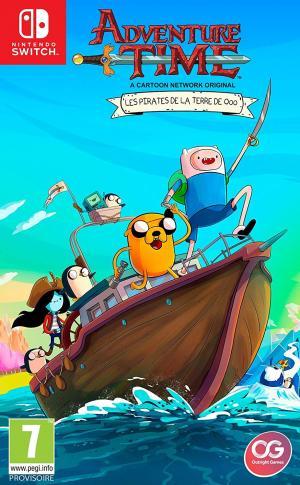 Echanger le jeu Adventure Time: Les Pirates de la Terre de Ooo sur Switch