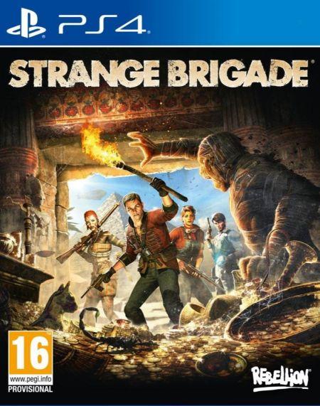 Echanger le jeu Strange Brigade sur PS4