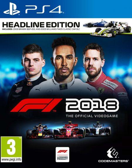 Echanger le jeu F1 2018 sur PS4