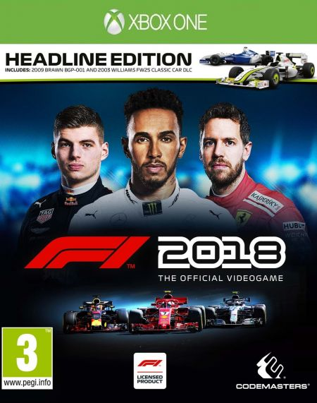 Echanger le jeu F1 2018 sur Xbox One