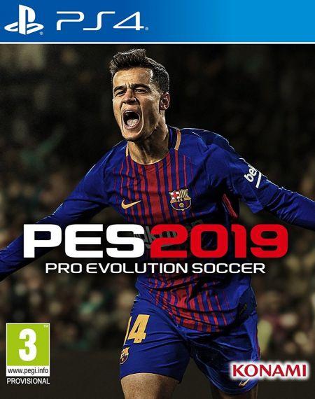 Echanger le jeu PES 2019 sur PS4