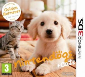 Echanger le jeu Nintendogs : Cats Golden Retriever & Ses Nouveaux Amis sur 3DS
