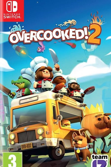 Echanger le jeu Overcooked 2 sur Switch