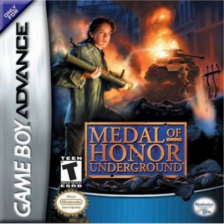 Echanger le jeu Medal of Honor : Underground sur GBA