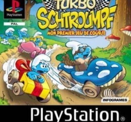 Echanger le jeu Turbo Schtroumpfs sur PS1