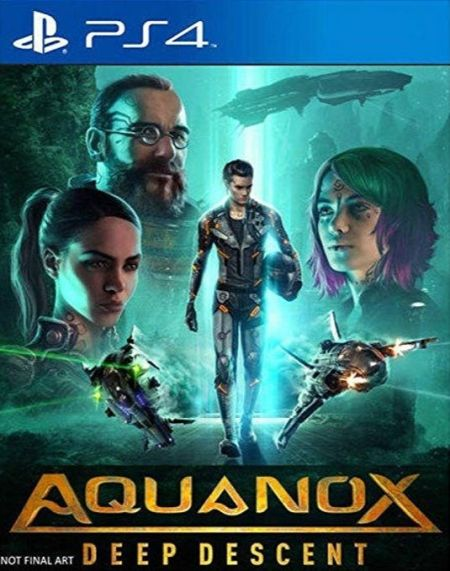 Echanger le jeu Aquanox Deep Descent sur PS4