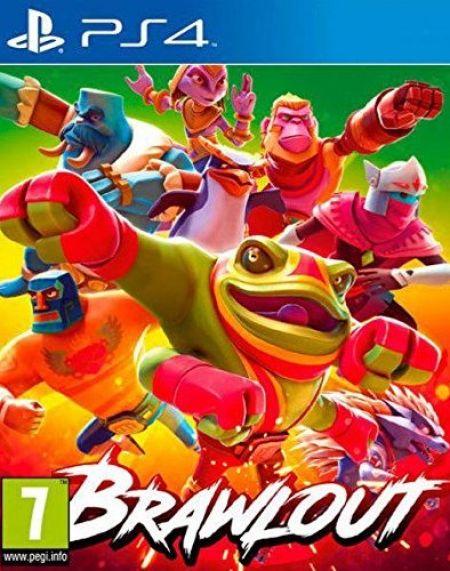 Echanger le jeu Brawlout sur PS4