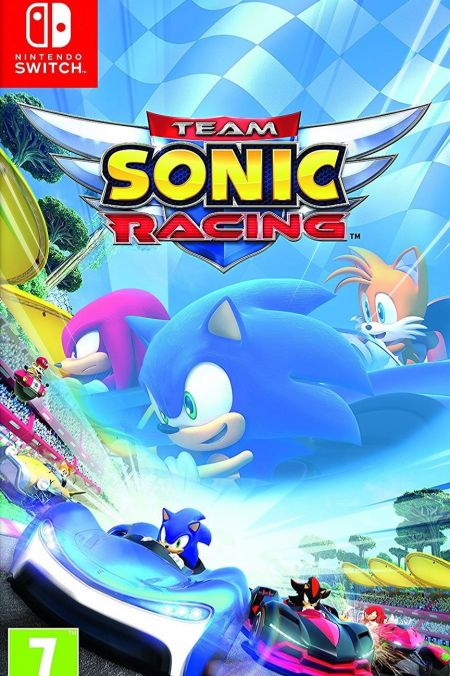 Echanger le jeu Team Sonic Racing sur Switch