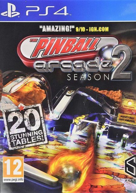 Echanger le jeu Pinball Arcade Season 2 sur PS4